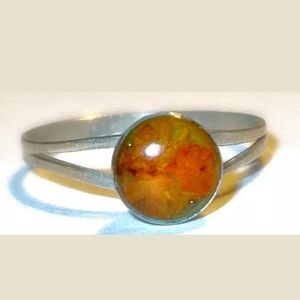 Native American Sterling Silver Vintage Ring~Size7